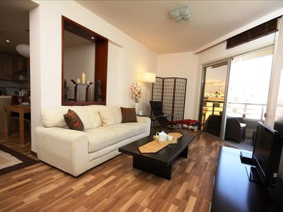 Photo for 1BR Apartment Vacation Rental in Germasogeia, Limassol