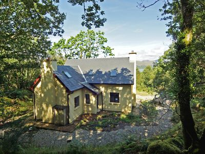 Photo for Detached cottage, in traditional style, quiet and secluded in wooded setting with outlook over…
