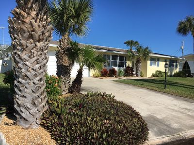 Photo for Beachside Ormond-by-the-Sea, pet-friendly home with saltwater pool!