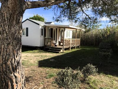 Photo for Camping Les Fontaines *** - Mobile home Olivier 3 Rooms 6 People