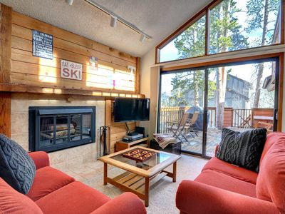 Photo for Spacious lodge-style duplex with a sauna near hiking, skiing, and more!