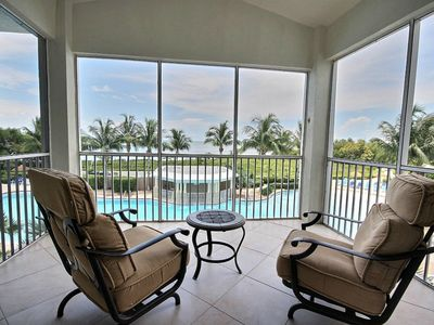 Photo for Oceanview from your patios! 408 Mariners Club