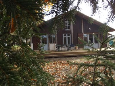 Photo for Cottage in the heart of the Landes with pool, near the ocean.