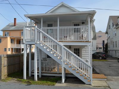 Ideal beach and Boardwalk location for families and families at heart.