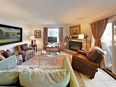 Photo for Steps to Assay Hill Ski Lift! 2BR w/ Pool, Hot Tub, Balcony & Shuttle  Access
