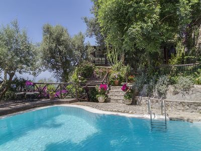 Photo for Villa Dei Germogli - Spectacular 4 bedroom ensuite villa with private pool on the Amalfi Coast near