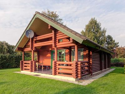 Photo for House log cabin - North Sea resort Burhave - Log cabin # L5