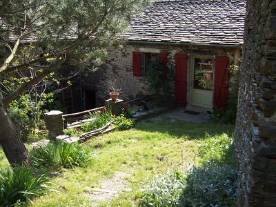 Photo for house hamlet of Viala. Limit of the Cevennes National Park. Safe Haven