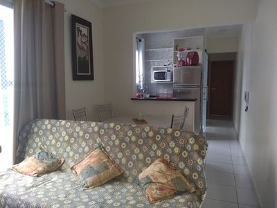 Photo for 2BR Apartment Vacation Rental in Canto do Forte, SP