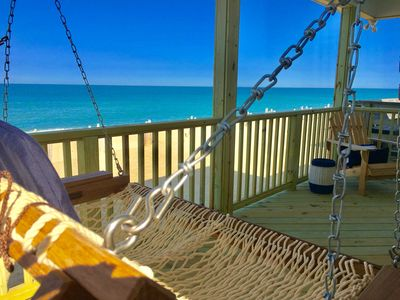 Photo for NEW LISTING: OCEANFRONT OASIS - Beautifully Renovated, Perfect Beach House 💙!