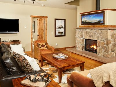 Photo for Charming Nordic ski-in/ski-out townhome, close to town center w/private hot tub!