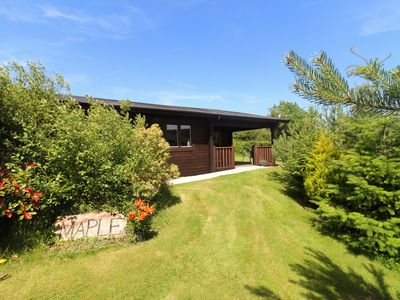 Photo for MAPLE LODGE, family friendly, with a garden in Lanivet, Ref 974712