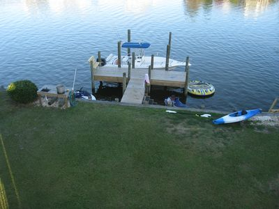 Bring Your Toys!  Lots of Room at Dock for Your Boat, Jet Ski(s) and Kayaks