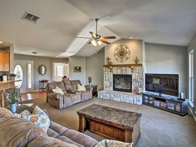 Photo for Lakefront Kimberling City Home w/ Game Room & Dock