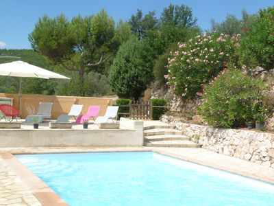 Photo for Quiet, villa with pool in the heart of Provence in Salernes
