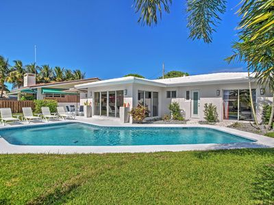 Photo for Upscale 3BR Wilton Manors House w/Heated Pool!