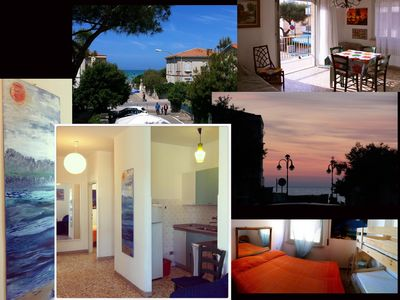 Photo for Three-room apartment 50 meters from the beach - Marina di Castagneto Carducci