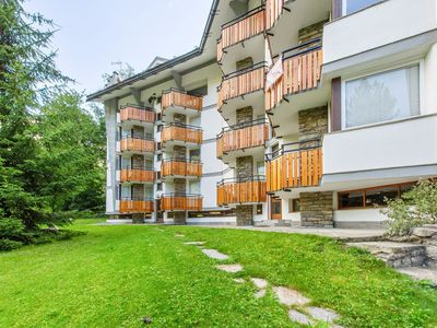 Photo for Graceful Apartment in Courmayeur with Fireplace