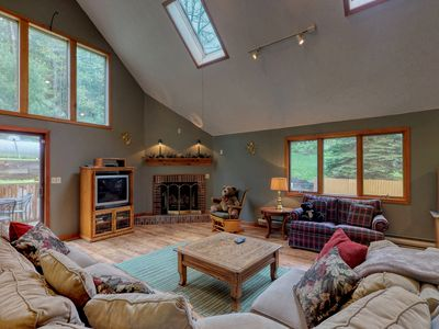 Photo for Dog-friendly Deep Creek home w/ private hot tub, foosball table, & free WiFi!