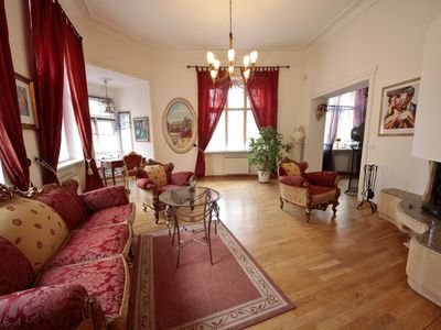 Photo for Luxurious apartment a few steps from Charles Bridge and Vielle Square