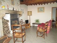Old building but comfortable, in a quiet very rural area. Very pleasant owners live nearby.