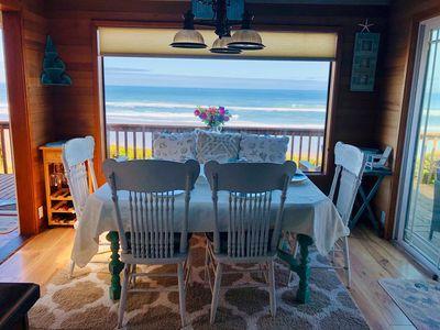 Photo for Sandy Beach, Quiet, Ocean Front with Pano Views