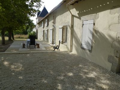 Photo for Countryside gite, 4 bedroom, sleeps up to 10 with large pool