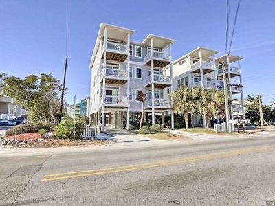 Photo for 4BR Carolina Beach Townhouse Steps From Ocean!