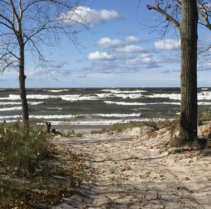 Photo for Charming Lakefront Cottage on Lake Ontario steps from famed Salmon River