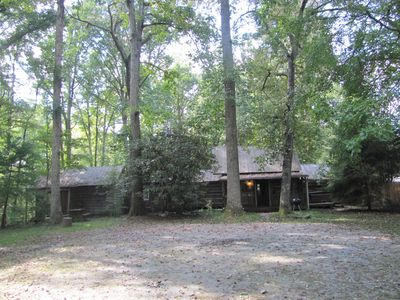 This is all ONE rental, game room left end, main cabin in the middle