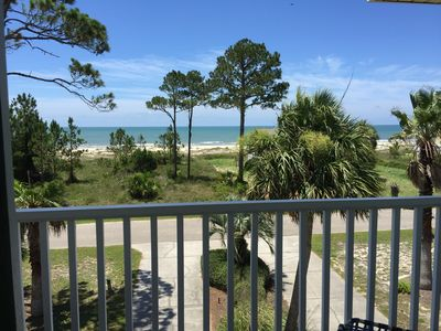 Photo for Updated Quiet Couples Retreat, 1st Tier Privacy - Gulf Front Views !
