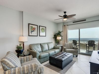 Photo for Updated Beachfront Condo with Stunning Views and Access to ALL Amenities!