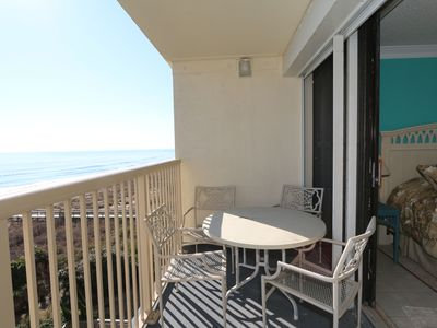 Photo for Peilcan Watch 405–Oceanfront condo with private beach access, Jacuzzi & pool