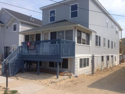 Photo for New Apt, 1/2 block from Beach/Boardwalk, wifi, parking pass, Central Air and mor