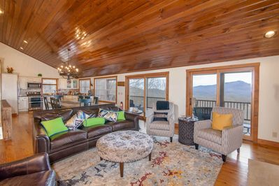 Mountain Views from Great Room