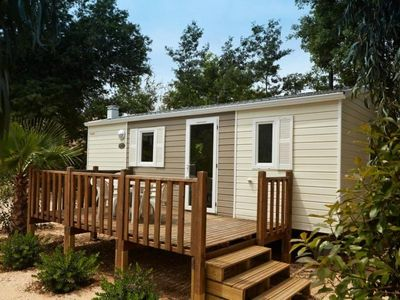 Photo for Camping des Sources *** - Mobile home 3 Rooms 4/6 People