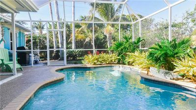 Photo for December Deals at Aqua Reef!! Extended Stay Ground Level Home with Private Pool!