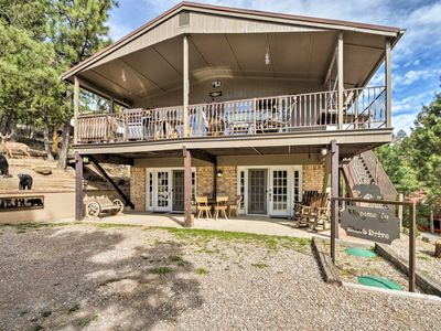 Photo for Updated Ruidoso 'Bear Hill Cabin' w/ Game Room!