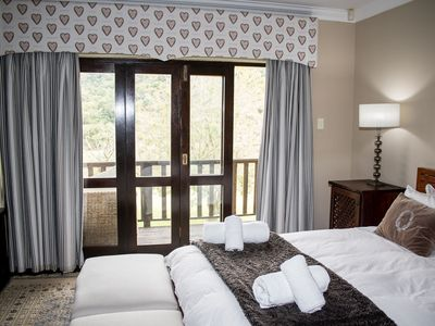 Photo for Phumula Country Manor is a country style retreat with a colonial setting .