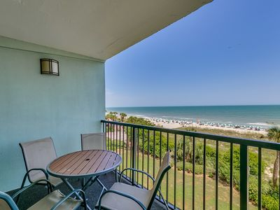Large Oceanfront Two Bedroom Two Bath Condo at Carolina Dunes! (3rd Floor)
