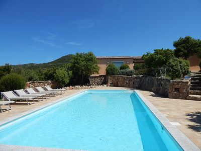 Photo for Wonderful Villa with private swimming pool in the middle of the mediterranean se