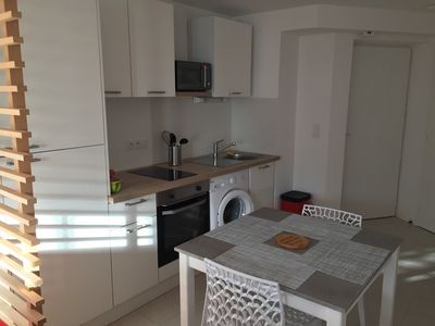 Photo for Studio 4 people located 50 m from the beach of Trestraou