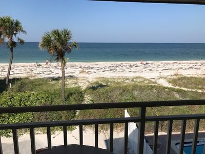 Photo for Club Bamboo South unit 225, Gulf Front Studio, ocean view, maximum occupancy of 4 people.