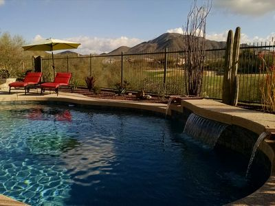 Photo for Sonoran Desert Resort Home W/ Heated Pool And Located On Private Golf Course