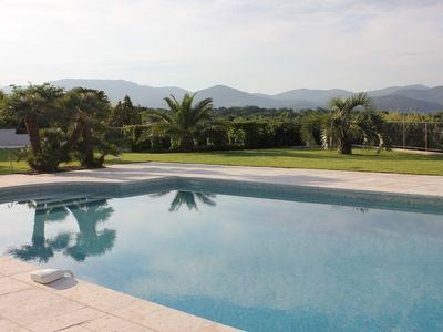Photo for DELIGHTFUL LUXURY VILLA WITH PANORAMIC SEA AND COUNTRY VIEWS