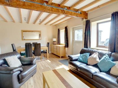 Photo for Comfortable holiday home with stunning views across the fields