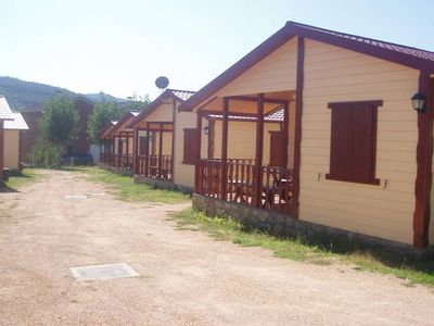 Photo for Tidy bungalow with a covered terrace, in the Aragon region