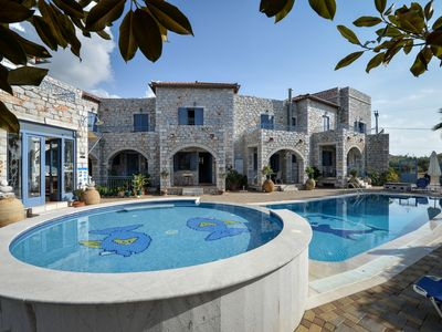 Photo for Traditional Stone Build Luxury Maisonette 250m From The Beach