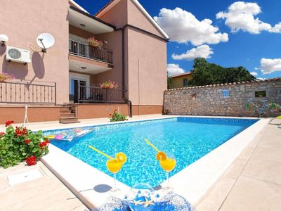 Photo for Vacation home Lara in Pula/Krnica - 10 persons, 4 bedrooms