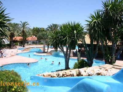 Photo for Bungalow in Denia, ground floor with two bedrooms and swimming pool.